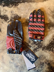 TRIco X Elders leather riding glove