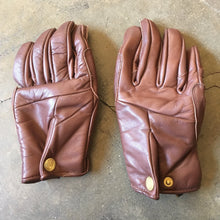 "Abel Brown ""Mada"" Riding Gloves - Brown"