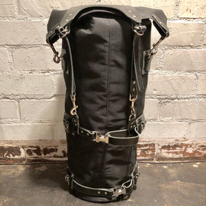 Mad Squirrel Sissy Bar Bag - Black/Black