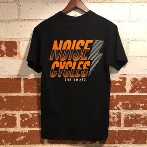 "Noise Cycles ""Give'em Hell"" T-Shirt - Black"