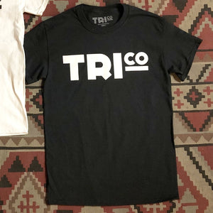 TRIco Block Logo T-Shirt - Black