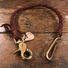 TRIco Wallet Lanyard - Oxblood Leather