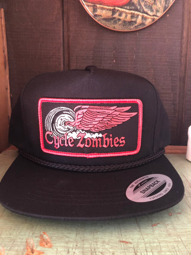 Cycle Zombies Finish Line Trucker Hat