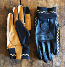 "Abel Brown ""Tracker"" Riding Gloves - Black"