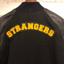 "Strange Vacation ""Strangers"" Letterman Jacket - Black"