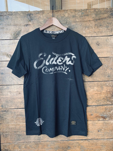 Elders Company T-Shirt - Black