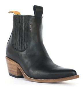 pskaufman Women's no.1001 Freeway Chelsea Boot Black