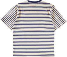 Eat Dust Baseball T-Shirt - Sailor Stripe
