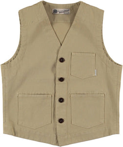 Eat Dust Tropic Service Vest - Light Tan