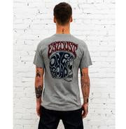 Eat Dust T Skull Shirt, Heather Grey