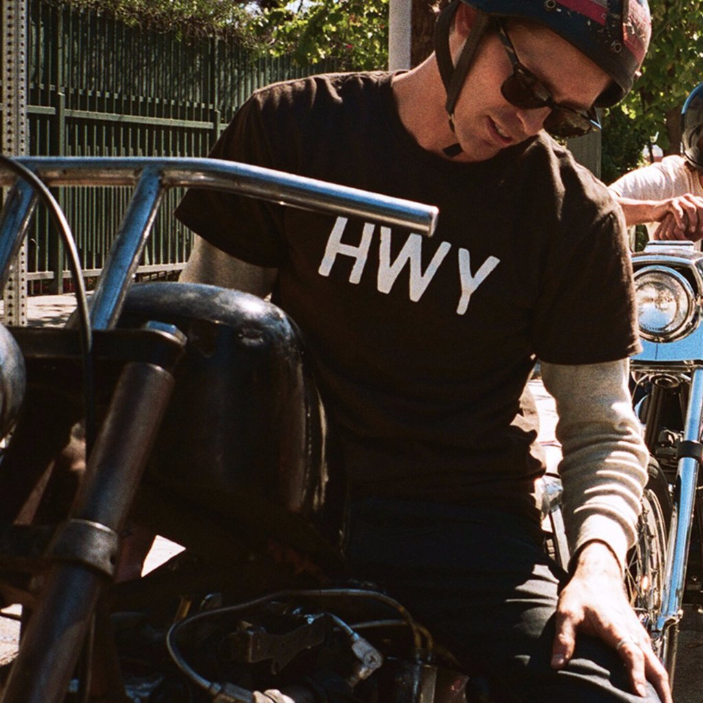 HWY Logo T-Shirt - Black