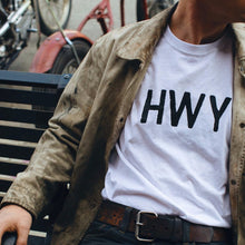 HWY Logo T-Shirt - White