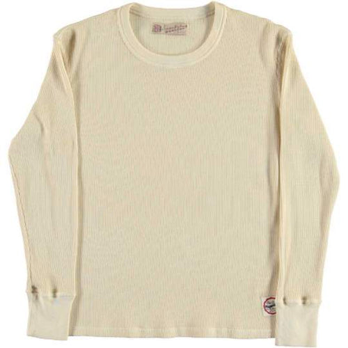 Eat Dust Waffle Thermal, White