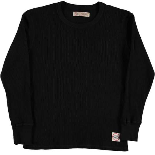 Eat Dust Waffle Thermal, Black