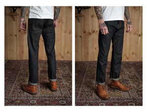 Eat Dust Fit 73 (Loose Tapered Fit) Japanese Selvedge Denim