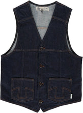 Eat Dust Indigo Western Vest