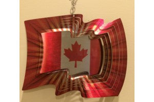 Vivid-Canadian Flag-Small 6.5""