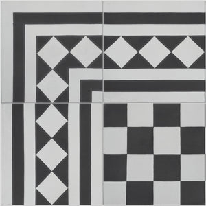 Chequer Pattern Tile Sample