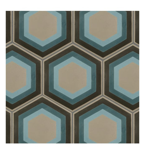 Patisserie Pattern Tile Sample