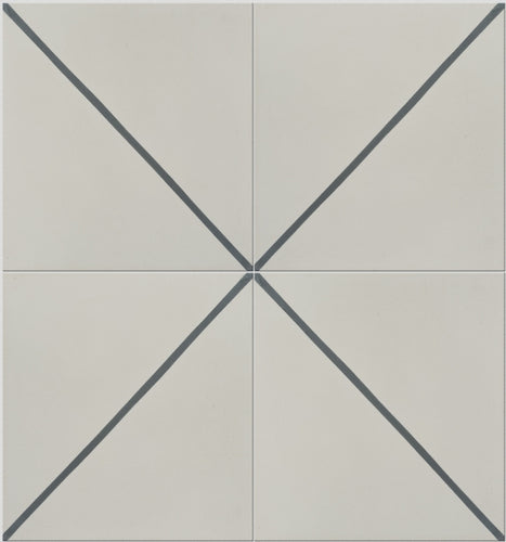 Pinstripe Pattern Tile (Box of 12)