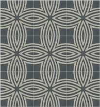 Load image into Gallery viewer, Wired Denim Pattern Tile (Box of 12)