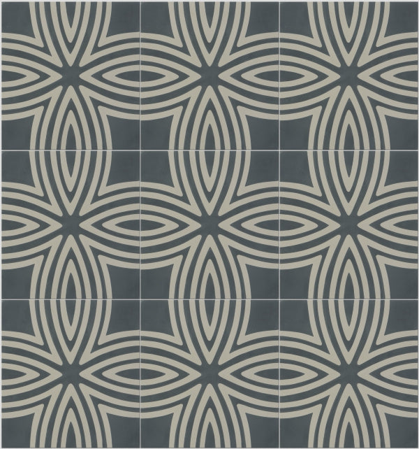Wired Denim Pattern Tile (Box of 12)