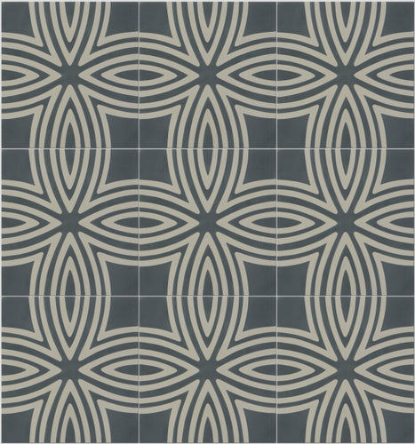 Wired Denim Pattern Tile Sample