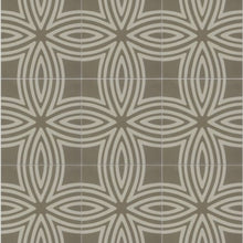 Load image into Gallery viewer, Wired Warm Grey Pattern Tile (Box of 12)