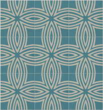 Load image into Gallery viewer, Wired Marine Pattern Tile (Box of 12)