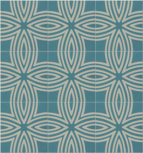 Wired Marine Pattern Tile Sample