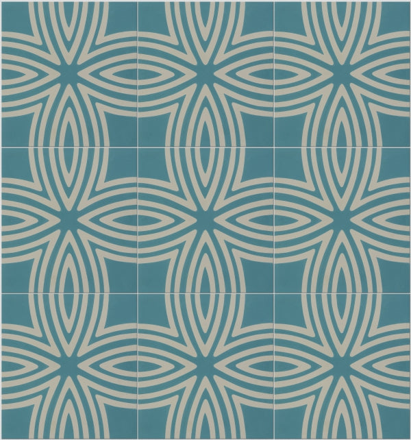 Wired Marine Pattern Tile (Box of 12)