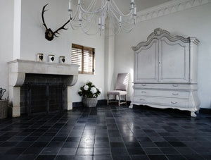 Belgian Mixed Distressed Limestone Tile