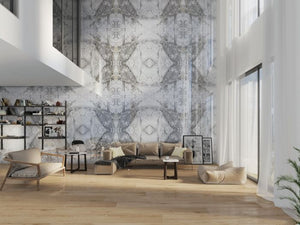 Bluetta Bookmatch Porcelain Tile