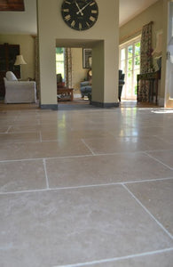 Corus Natural Limestone Tile Sample