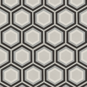 Patisserie Monochrome Pattern Tile Sample