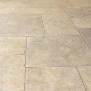 Jerusalem Grey Gold Natural Limestone Tile Sample