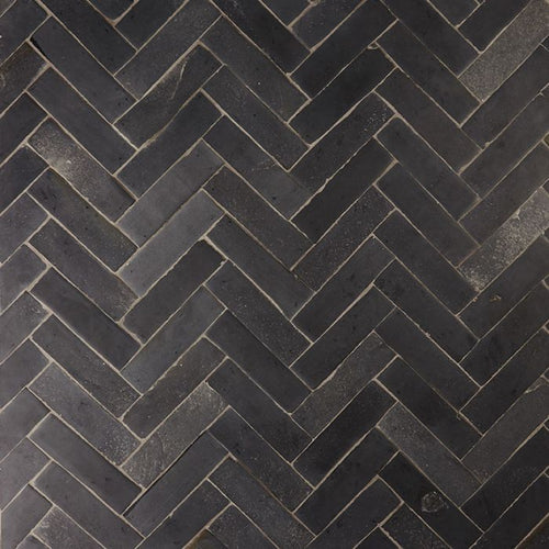 Nero Parquet Natural Limestone Tile