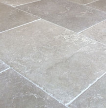 Load image into Gallery viewer, Roman Grey Natural Limestone Tile