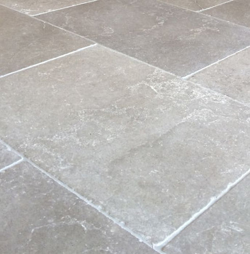 Roman Grey Natural Limestone Tile Sample