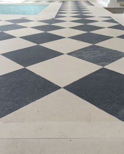 Urban Black Natural Limestone Tile