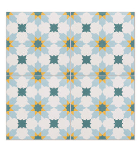 Tangier Pattern Tile (Box of 12)