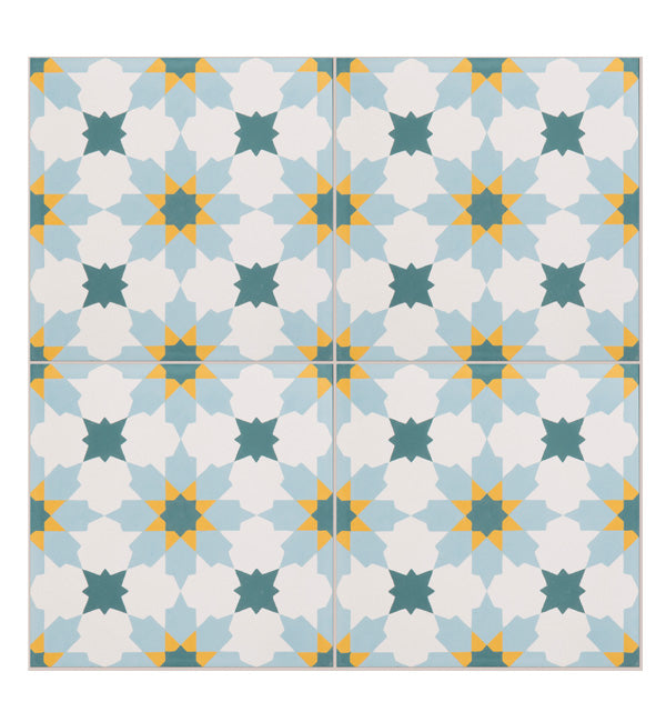 Tangier Pattern Tile Sample