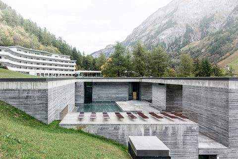 Shop Zung inspires Therme Vals