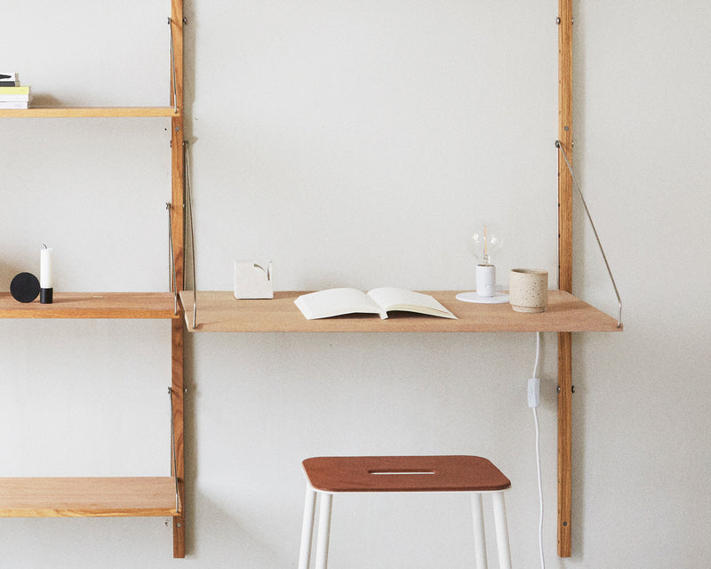 Frama | Shelf Library H1148 | Desk Section
