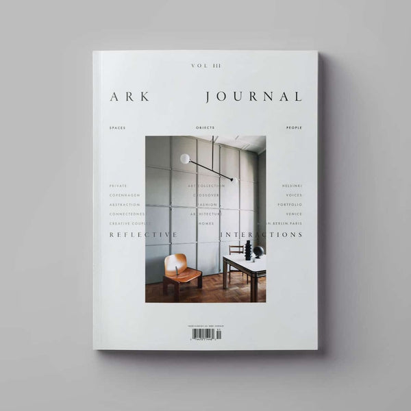 Cover of Ark Journal Volume 3 in grey