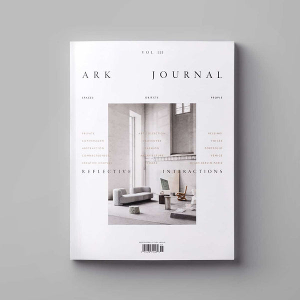 Cover of Ark Journal Volume 3 in white