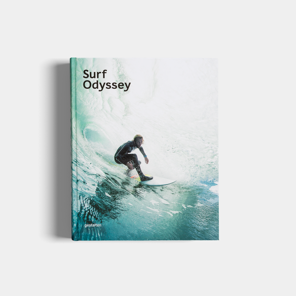 Cover of Andrew Groves' book, Surf Odyssey