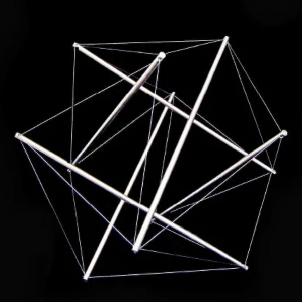 Buckminster Fuller | Six Part Push - Pull Tensegrity | 1979 (Triad Museum Series)