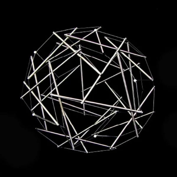 Buckminster Fuller | Thirty Strut Tensegrity Dome | 1981