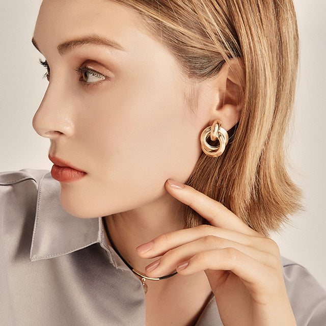 Turia Clip On Earrings